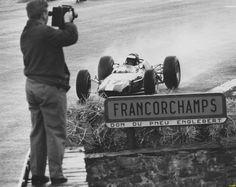 1965 Belgian GP Lotus 33 Climax Jim Clark