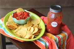 A primary reason I grow tomatoes in my garden - this salsa. We make buckets at the end of every summer.