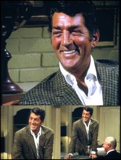 Dean Martin and his gorgeous smile.