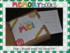 Paper Bag Memory Books: Cheap, Fun...Perfect for End of Year