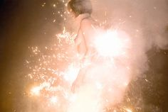 Nudity, Nature & Sparklers :: Inside The World of Photographer Ryan McGinley. Dreamy Photography, Erotic Photography, Dazzle Camouflage, Digital Museum, American Spirit, Photography Projects, Sparklers, Erotic Art, Les Oeuvres