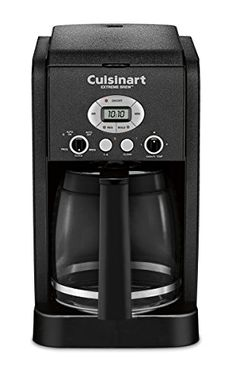 Cuisinart DCC-2650BW 12 Cup Brew Central Programmable Coffeemaker, Black Wrinkle