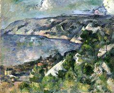 Bay of L'Estaque by Paul Cezanne (France)