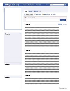 Faux Facebook Profile In A Word Doent So Students Can Add Their Own Content Great First Week Of School Activity Clroom Ideas