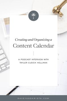 Tayler and I chat about creating a content strategy—more specifically, building a content calendar, managing the creation process, and tips to make distribution of that content as quick as possible. Content Marketing Strategy, Small Business Marketing, Online Business, Media Marketing, Marketing Ideas, Digital Marketing, Business Advice, Business Planning, Doula Business