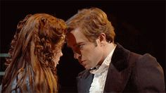 """Hadley Fraser and Sierra Boggess and Raoul and Christine in """"The Phantom of the Opera"""" Broadway Theatre, Musical Theatre, Musicals Broadway, Broadway Les Miserables, Hadley Fraser, Theatre Nerds, Theater, Music Of The Night, Theatre Problems"""