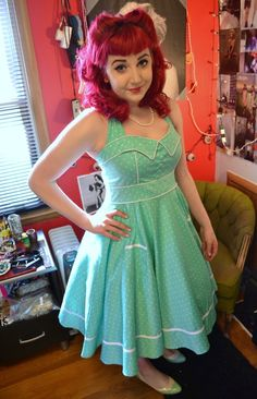I've been in love with this dress ever since Hell Bunny released it in their spring collection!