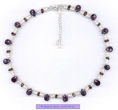 This is a pretty #amethyst #necklace  Repin, Like, Share!  Thanks!