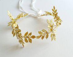 Statement Bridal Hair Accessories Wedding Party Hair Jewelry Crystal Pearl Bohemian Head Decorative Clip Pin Headpiece Hair Vines Gold TIARA