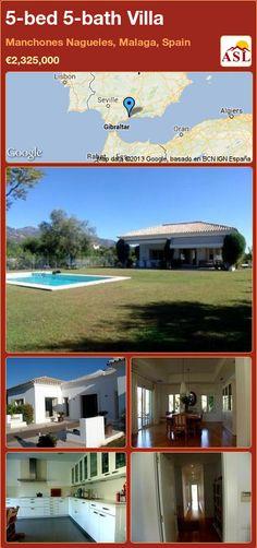 5-bed 5-bath Villa in Manchones Nagueles, Malaga, Spain ►€2,325,000 #PropertyForSaleInSpain