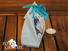 Gastgeschenke - Foto- Gastgeschenktüte = Lichttüte - ein Designerstück von Fotogruesse bei DaWanda