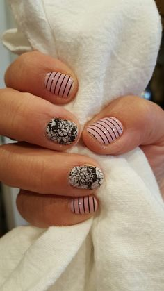 Loving my new Jamberry mani! Beverly Hills and Smitten Get yours today at jennifercolee.jamberry.com