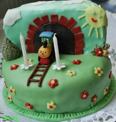 vonatos torta