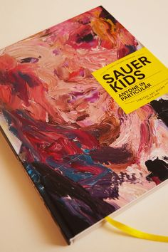 New Book: Anything In Particular http://www.kochxbos-store.com/nl/sauerkids-anyone-in-particular.html