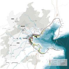 CPLN 701 Planning Studio (Weller/Taylor/Yaro): The PennDesign Jing-Jin-Ji Megaregional Studio Landscape Architecture Model, Architecture Mapping, Landscape And Urbanism, Landscape Concept, Landscape Plans, Architecture Portfolio, Urban Landscape, Landscape Design, Landscape Diagram