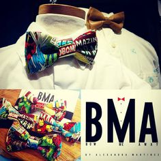 New! Marvel comics bow tie! Featuring Spiderman, Thor, Hulk, Captain America, and Iron Man