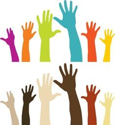 No matter who you are, just keep your hands up and feel happy!