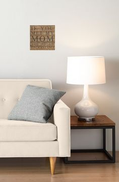Second Nature by Hand 'If You Met My Mom You Would Understand' Repurposed Wood Wall Art available at #Nordstrom