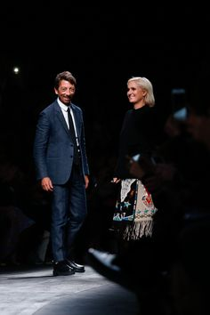 Valentino Spring 2016 Ready-to-Wear Fashion Show - Pierpaolo Piccioli, Maria Grazia Chiuri