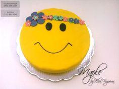 Pastel carita feliz