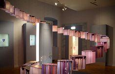 LED Lantern Bookcases