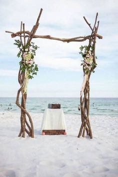 Driftwood Wedding Arch
