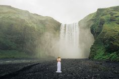 Bridal Session in rugged Icelandic terrain                                                                                                                                                     More