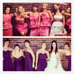 "We copied the ""Bridesmaids"" pic!"