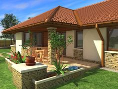 These Modern Home Exterior Design Ideas Will Give You Inspiration For Your Next Residential Project. House Outside Design, House Front Design, House Paint Exterior, Dream House Exterior, Exterior Design, Mobile Home Exteriors, Modern Mediterranean Homes, Country Modern Home, House Construction Plan