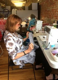 Another amazing week of sewing at The Sewing Workshop's Sew Kansas event!