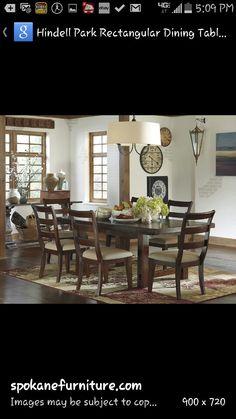 Dining Room Ashley Hindell Park