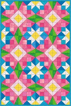 Design finalized using Electric Quilt software
