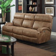 Barcalounger Barclay Power Reclining Sofa with Power Head Rests - 39PH3025602486