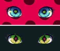 Eyes! This time of the Kawmi, Tikki and Plagg