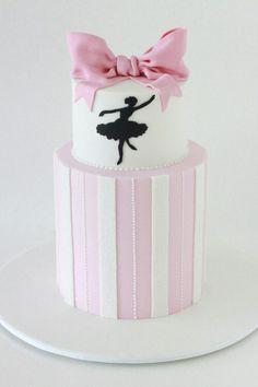 Ballet cake #dance #cake