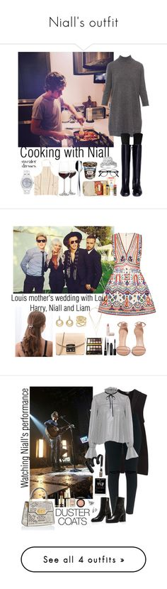 """""""Niall's outfit"""" by ap0dita ❤ liked on Polyvore featuring Repeat, Stuart Weitzman, Burt's Bees, Crate and Barrel, Alessi, Rolex, outfit, NiallHoran, clothes and Alice + Olivia"""
