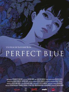 Réalisé par Satoshi Kon (1999) Film Anime, Anime Dvd, Anime Manga, Vincent Gallo, Funeral Posters, Animated Movie Posters, Satoshi Kon, Badass Movie, Retro Vintage