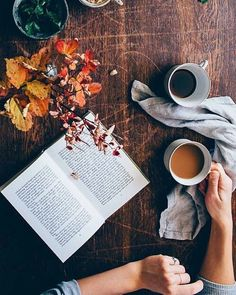 Tea, Coffee, and Books Chillout Zone, Fall Inspiration, Pause Café, Autumn Aesthetic, Cozy Aesthetic, Orange Aesthetic, Aesthetic Pics, Aesthetic Wallpapers, Autumn Cozy