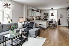 The Best 2019 Interior Design Trends - Interior Design Ideas One Bedroom Apartment, Apartment Interior, Apartment Living, Interior Design Living Room, Living Room Designs, Living Room Decor, Cheap Apartment, Small Apartment Decorating, Small Apartments