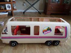 1981 Barbie Western Winks Star Traveler Gmc Motor Home