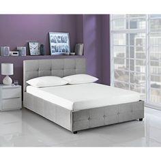 eb3979d7b990 Buy Argos Home Eros Ottoman Superking Bed Frame - Grey | Bed frames | Argos  Grey