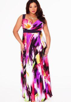 Best maxi dress for plus size