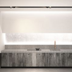 AD office interieurarchitect - branwood kitchen cabinets witch bluestone countertop and indirect lighting Kitchen Lighting Design, Interior Design Kitchen, Kitchen Decor, Beautiful Kitchens, Cool Kitchens, My Kitchen Rules, Cocinas Kitchen, Minimal Kitchen, Interior Architecture