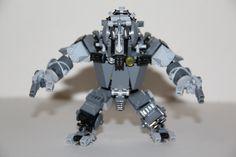 Rhino suit lego brick from Amazing Spider-man 2
