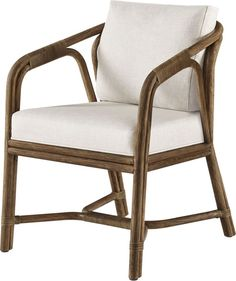 Barbara Barry Ojai Dining Chair: No. Rattan Sofa, Rattan Furniture, Dining Room Furniture, Dining Chairs, Shaped Windows, San Francisco Design, Elegant Table, Occasional Chairs, Modern Chairs