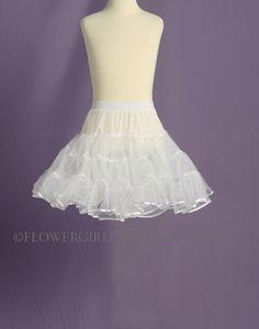 GIRL/'S NET KIDS Petticoat  Christening Communion Underskirt flower girl dress