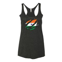 Indian Ripped Womens Racerback Tank