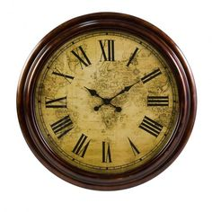 Marco Polo Wall Clock #wallclock #walldecor #clock