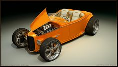 Ideas for my new street rod (More at pinterest.com/gary5mith/ideas-for-my-new-street-rod/) 32 Ford - Sinclair - concept by dangeruss