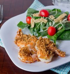 Crispy Baked Shrimp on MyRecipeMagic.com